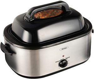Stamo Roaster Oven, 24 Quart Electric Roaster Oven